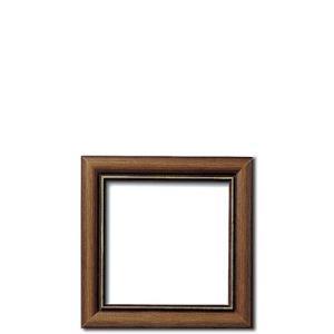 刺繍 刺しゅう額 オリムパス W-28 ブラウン 内径:10.5×10.5cm shugale1