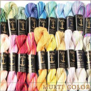 刺繍 刺しゅう糸 Anchor 5番 パールコットンマルチ 1の商品画像|ナビ