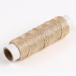 丁寧に作り上げられた日本製のラメ糸です。 上品で華やかな光沢感で 刺繍、パッチワークなど、いろいろな...
