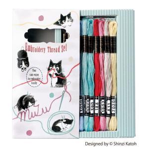 これからフランス刺しゅうを始めてみたい方にぴったりな、糸と図案がセットになったデザインBOXです。 ...