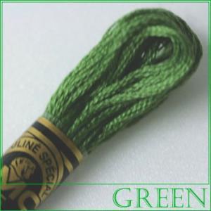 刺繍 刺しゅう糸 DMC 25番 グリーン系 3363|ししゅう糸 刺繍糸 ディーエムシー DMCの...