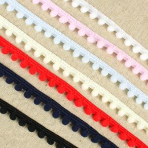 生地 ソーイング副資材・用品 テープ Cotton Memoryボンボンフリンジ 7754|shugale1