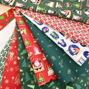 かわいいクリスマス生地のカットクロスを詰め合わせました♪  \柄重複なし/  柄は写真と同じものです...
