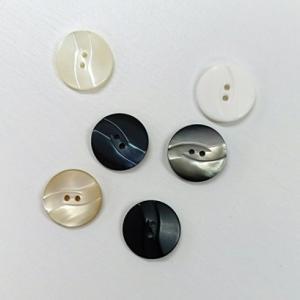 表穴ボタン (3個単位) (13mm) #3021 shugeinohaguruma