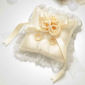 バラのスウィートリングピロー 手作りキット RP-18 結婚式 shugeinohaguruma