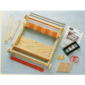 クロバー 手織り機「咲きおり」 40cm 〈30羽セット〉  57-950
