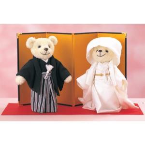 しあわせくまさん 手作りキット 立ったタイプ SK-1 結婚式 shugeinohaguruma