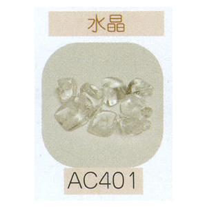 ヘンプ・アクセサリーパーツ天然石 ビーズ(パワーストーン)・水晶(さざれタイプ約7cm分)|shugeiya