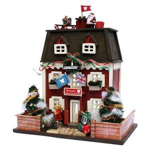 ドールハウスキット ミニチュア  木製 クリスマスハウス