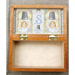 サジュー(Sajou) 木箱 小さなソーイングボックス(裁縫箱)|shugeiya
