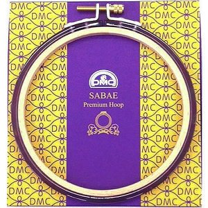 DMC刺繍枠SABAE(鯖江)プレミアムフープ ライトパープル|shugeiya