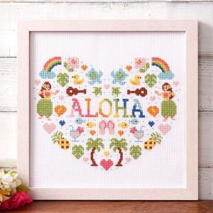 """""""かわいいハワイ""""をテーマにしたaloha stitch(アロハステッチ)シリーズ。 ゆったりとした..."""