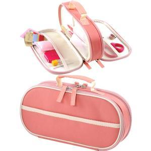 トレミー裁縫セット(ソーイングセット) 小学生 女の子 家庭科用 Wファスナータイプ ピンク|shugeiya