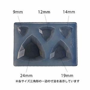 レジン型(粘土用)シリコン ソフトモールド トリリアント shugeiya