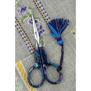 ◆送料無料◆サジュー(Sajou)フランス輸入雑貨 手芸はさみ(onyx bleu)|shugeiya