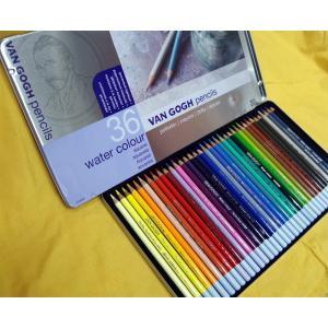 ヴァンゴッホ水彩色鉛筆 36色セット shukeido-net