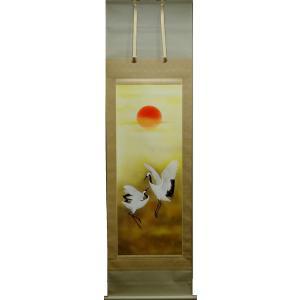 掛軸「双鶴」 上村久志|shukeido-net