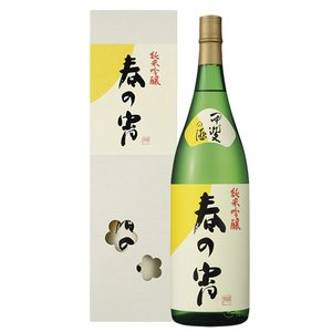 日本酒 春鶯囀 (しゅんのうてん) 純米吟醸 春の宵 (はるのよい) 1800ml (萬屋醸造店 山梨県)|shunnoten