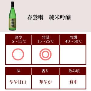 日本酒 春鶯囀 (しゅんのうてん) 純米吟醸 春鶯囀 720ml (萬屋醸造店 山梨県)|shunnoten|02
