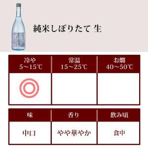 日本酒 春鶯囀 (しゅんのうてん) 純米酒 純米しぼりたて 生 720ml  季節限定(萬屋醸造店 山梨県)|shunnoten|02