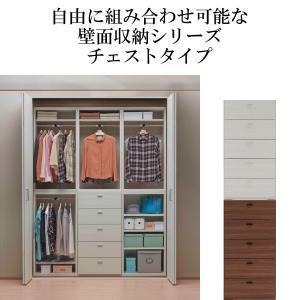■商品説明 ・組み換え自在で設置場所と用途を選ばない壁面収納のチェスト。 ・引き出し5杯で衣類収納や...