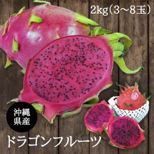 ドラゴンフル−ツ 赤 沖縄産 2kg 食べ方説明書付き
