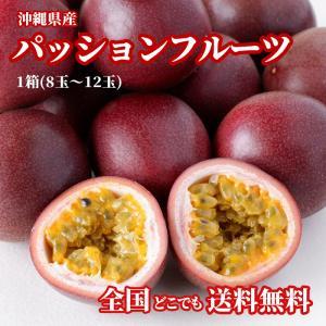 パッションフルーツ 沖縄産 1箱 食べ方説明書付き
