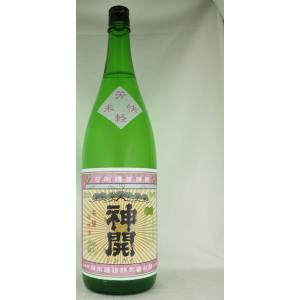 藤本酒造 神開 純米 レトロピンク 1800ml|shusakesakebumon