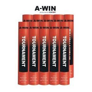【即日出荷】A-WIN/アーウィン バドミントンシャトル トーナメント 10ダース(本)入り 1箱|shuttle-garden