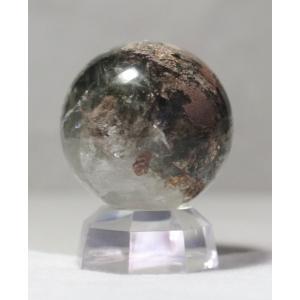 ガーデン水晶丸玉 43.4mm (109.7g) ブラジル産