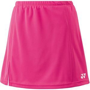 Yonex ヨネックス ガールズ テニスウェア ジュニアスカート インナースパッツ付 26046J ベリーピンク|スポーツヒーローZ PayPayモール店