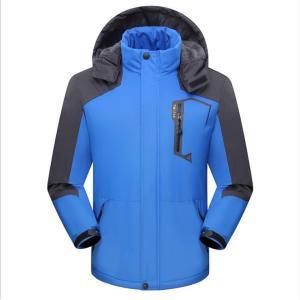冬の暖かいジャケットの男性 裏起毛とベルベットの肥厚の登山のスーツアウトドアセットカップルモデル防風防水大きなサイズ|si-susyoltupu