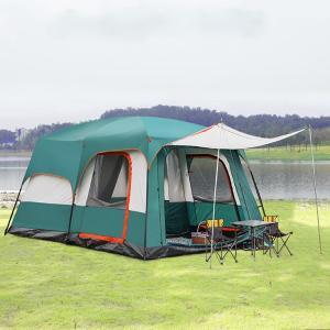 テント 8人〜12人用 キャンプ キャンピングテント ツーリングテント ドーム型テント 防水|si-susyoltupu