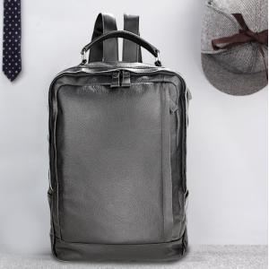 本革 牛革バックパック カバン メンズ ビジネスバッグ 大容量 ビジネスリュック 通勤バッグ リュック リュックサック USB充電ポート PC タブレット|si-susyoltupu