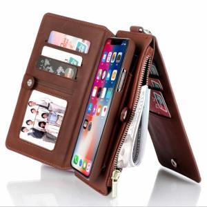 iPhoneケース 手帳型 カバー レザー スマホケース おしゃれ 携帯カバー携帯電話ケース創造的なApple XRの革ケースレトロな革ケース|si-susyoltupu