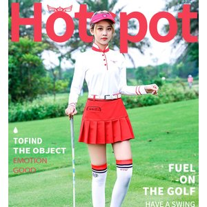 ゴルフ レディース  ポロシャツ スカート セットアップ 半袖 スポーツウェア ゴルフウェア シャツ テニス バドミントン|si-susyoltupu