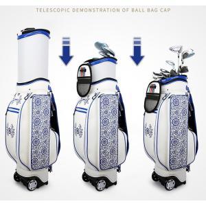 ゴルフ用品防水バッグ キャディーバッグ ベーシックモデル ヘッド自由伸縮 メンズ用 キャディバッグ 軽量 おしゃれ |si-susyoltupu