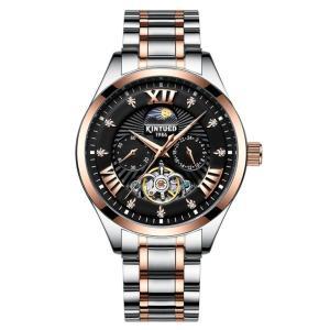 腕時計 メンズ 自動巻き スケルトン 天然ダイヤ 30m防水 時計 腕時計 ステンレスケース  si-susyoltupu