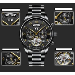腕時計 メンズ 自動巻き スケルトン 天然ダイヤ 30m防水 時計 腕時計 ステンレスケース 送料無料 si-susyoltupu