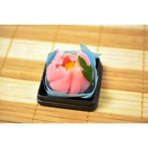 上生菓子 牡丹 4月|siberia