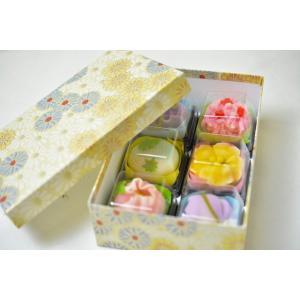 上生菓子用 贈答用化粧箱 6個用|siberia