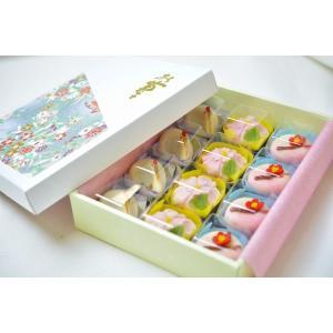 上生菓子用 贈答用化粧箱 12個用|siberia