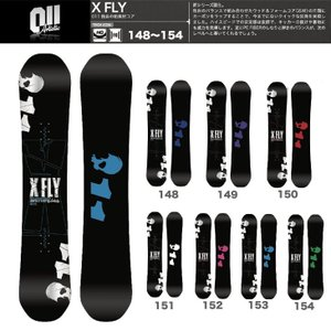 011 ARTISTIC X FLY スノーボード