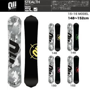 011 ARTISTIC STEALTH スノーボード