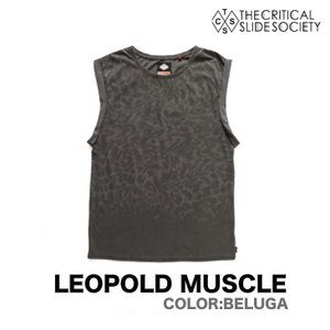 TCSS / THE CRITICAL SLIDE SOCIETY ティーシーエスエス LEOPOLD MUSCLE  ベスト トップス Tシャツ