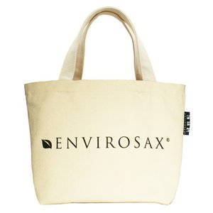 エンビロサックス ミニコットントートバッグ 内ポケット付 セサミストリート ENVIROSAX|siegs