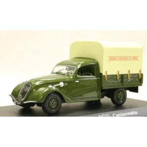 1/43 ミニカー CL 472204プジョー202(1947)オリーブグリーン|sieikan