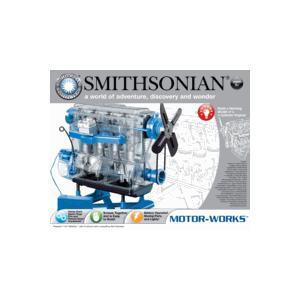 エンジン模型 スケルトン エンジンプラモデル Smithonian Motor-Works 49013 スミソニアン モーターワークス|sieikan