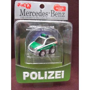 チョロQ メルセデスベンツ ポリス Mercedes Benz POLIZEI|sieikan