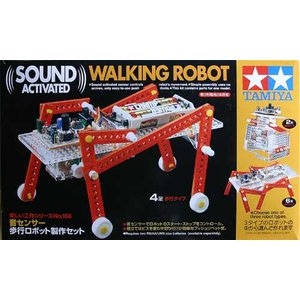 楽しい工作シリーズNo.156 音センサー歩行ロボット製作セット|sieikan